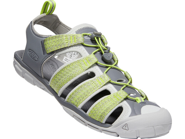 Keen Clearwater II CNX Sandals Men steel grey/evening primrose